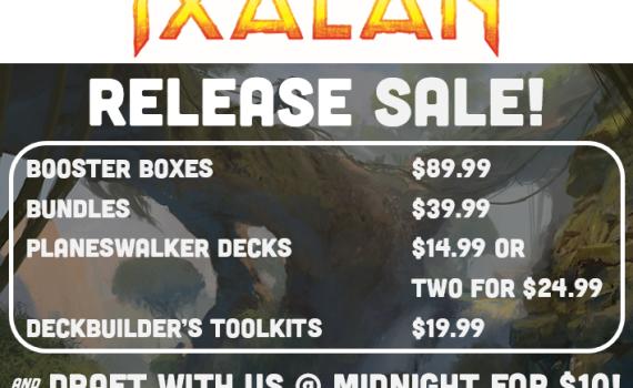 Ixalan Release Flyer