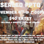 Sealed PPTQ